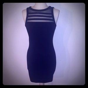 NWOT BB Dakota Black Bodycon Dress